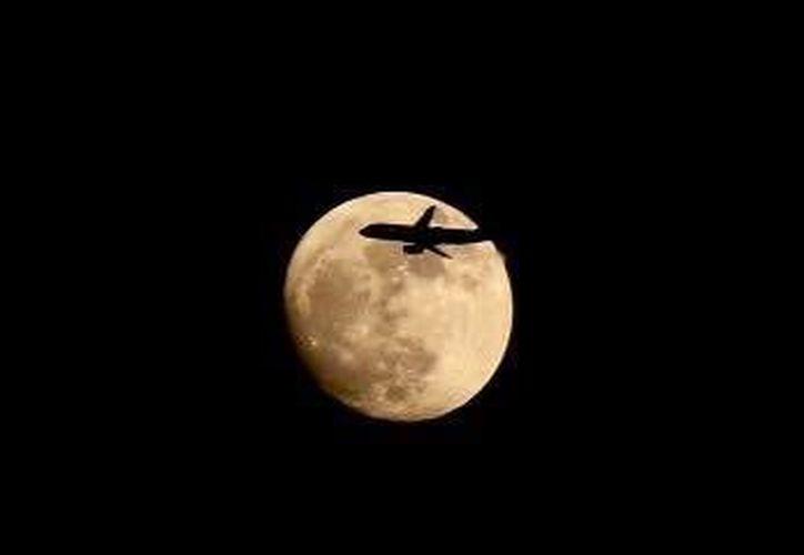 La luna será hoy más grande y brillante que otras veces. (Luis Soto/SIPSE)