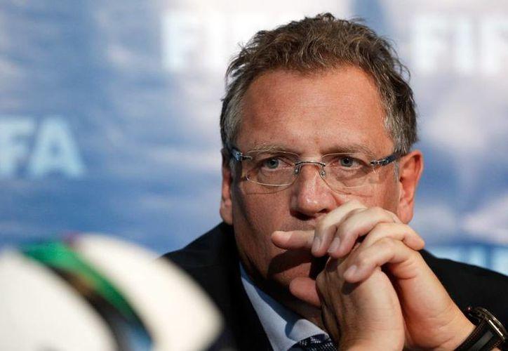 Jerome Valcke ya no es más el secretario general de la Federación Internacional de Futbol Internacional (FIFA). (AP)