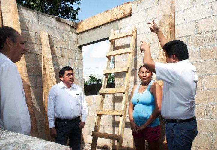 Con el programa 'Un cuarto más' el Instituto de Vivienda del Estado del Estado beneficia a yucatecos de escasos recursos. (Foto cortesía del Gobierno de Yucatán)
