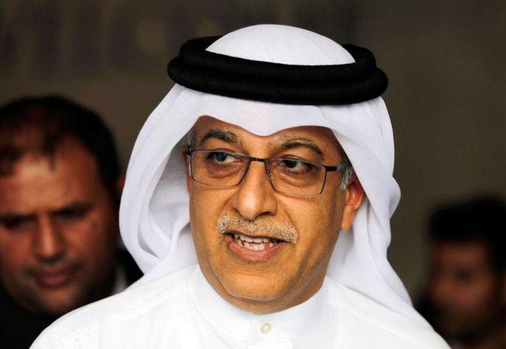 Sheikh Salman bin Ebrahim Al Khalifa, presidente de la Confederación Asiática de Futbol, es un candidato más a la presidencia de la FIFA. (AP)