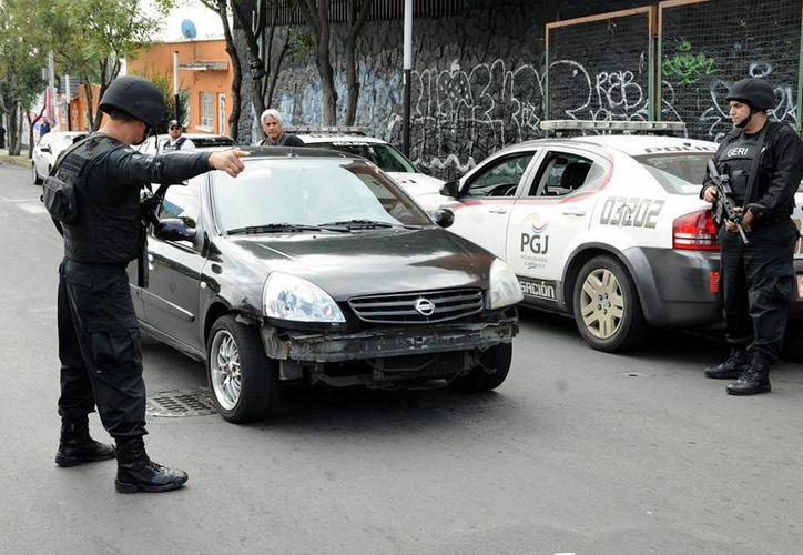Al revisar el domicilio de María Alejandra Lafuente Casco, en Xochimilco, elementos de la PGJDF localizaron restos de su víctima. (Imagen de referencia/Archivo/Notimex)