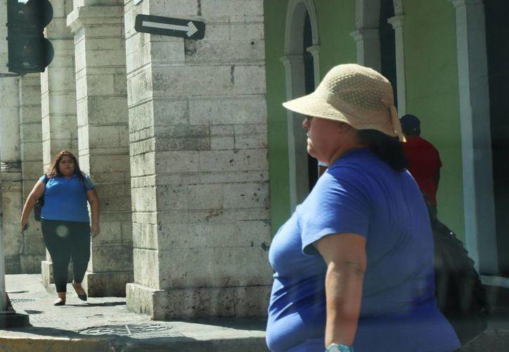 Médicos recomiendan protegerse de los rayos del Sol, además de que las temperaturas cálidas generan diversas enfermedades. Imagen de una mujer que usa un sombrero para el sol. (José Acosta/Milenio Novedades)