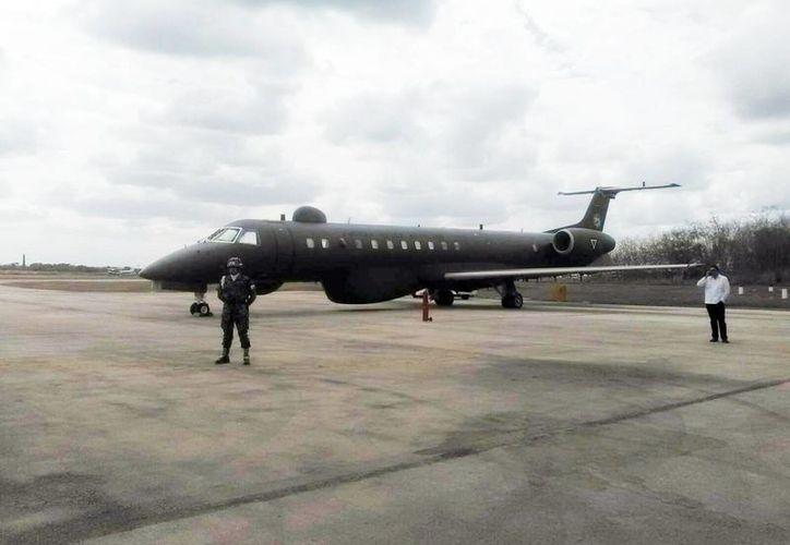 El Comando Norteamericano de Defensa Aeroespacial se encuentra en la Base Aérea Militar Número 8, ubicada en el sur de la ciudad, para realizar practicas de vuelos de respuesta inmediata, en caso de alguna emergencia. (Foto de contexto/SIPSE)