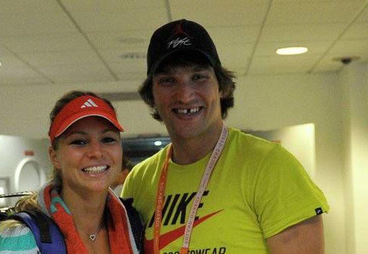 Alex Ovechkiny María Kirilenko estaban juntos desde el 2011. (twitter)