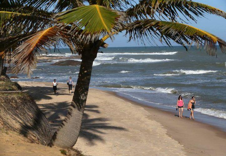 El complejo turístico Costa do Sauípe, que albergará el viernes el sorteo mundialista, está integrado por seis hoteles y un campo de golf.  (EFE)