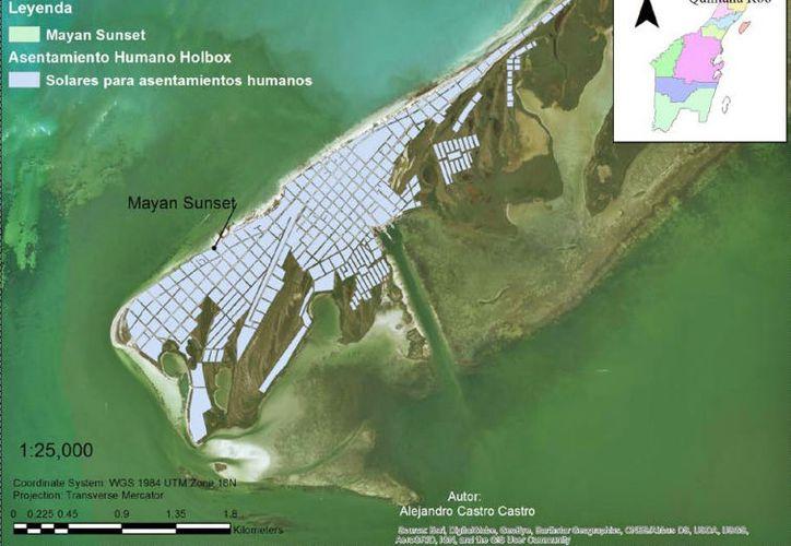 El proyecto se pretendía localizar en la zona federal marítimo terrestre. (Jesús Tijerina/SIPSE)