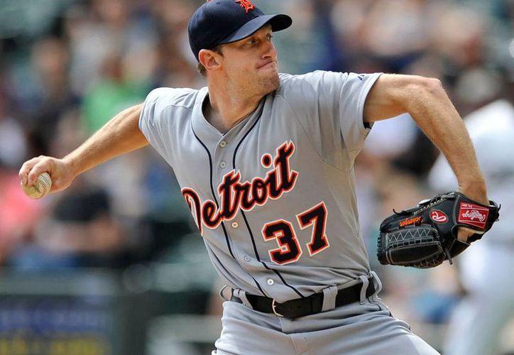 Scherzer, lanzador derecho de 30 años, es agente libre luego de jugar las 5 temporadas con los Tigres de Detroit. (Archivo/AP)