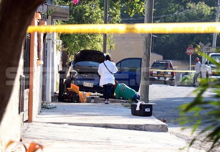 El asesinato se presentó en la mañana de Navidad, en el poniente de Mérida. (SIPSE)