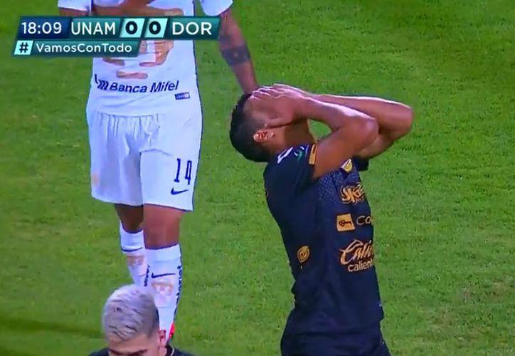 Con un autogol en el primer minuto y dos goles en el cierre del segundo, los felinos universitarios echaron a los Dorados de Maradona (Imagen: captura de pantalla)