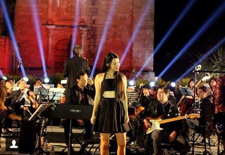 Belanova ya ofreció un concierto sinfónico en Oaxaca.