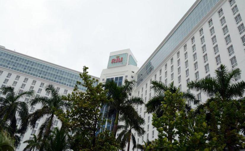 En el hotel Riu Cancún Caribe se encuentran las oficinas administrativas del proyecto. (Luis Soto/SIPSE)