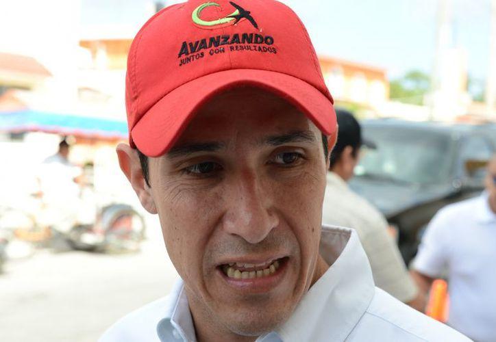 Aurelio Joaquin afirma que solo se le debe a PASA cinco millones de pesos y que el problema del retraso en los pagos está solucionado. (Gustavo Villegas/SIPSE)
