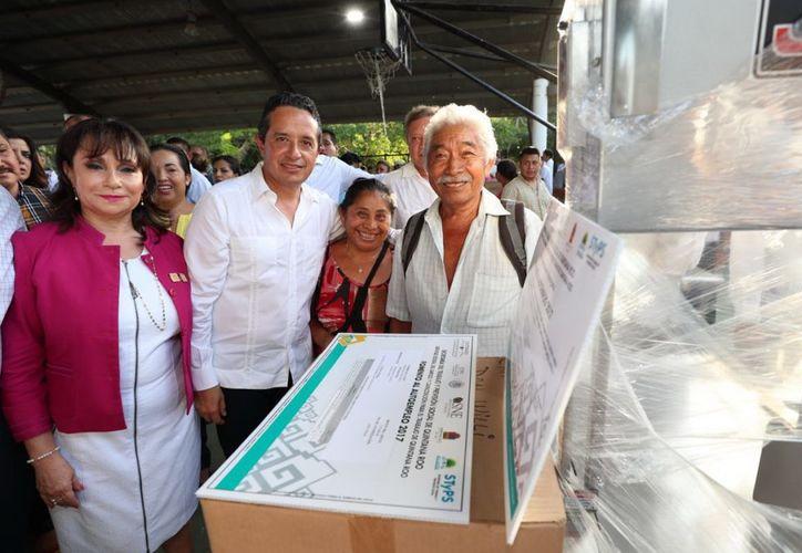 El gobernador informó que el estado es líder en empleo con prestaciones de ley. (Gobierno de Quintana Roo)