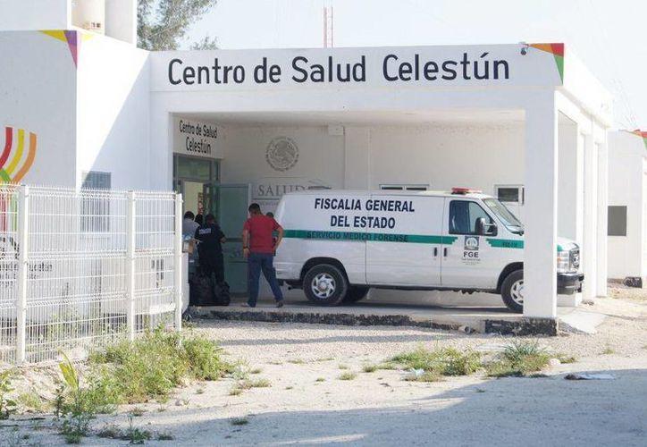 La mujer falleció en el Centro de Salud de Celestún a consecuencia de las graves heridas que le propinó su cuñado con un cuchillo. (SIPSE)