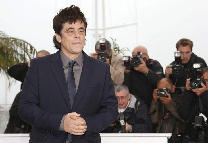 Benicio del Toro en el Festival de Cannes, en Francia. (EFE)