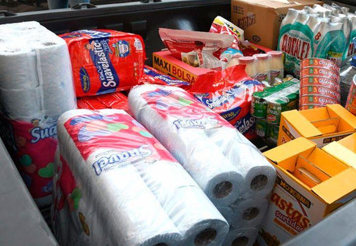 La despensa será transportada a los lugares afectados: Ciudad de México, Puebla y Morelos. (Foto: Contexto)
