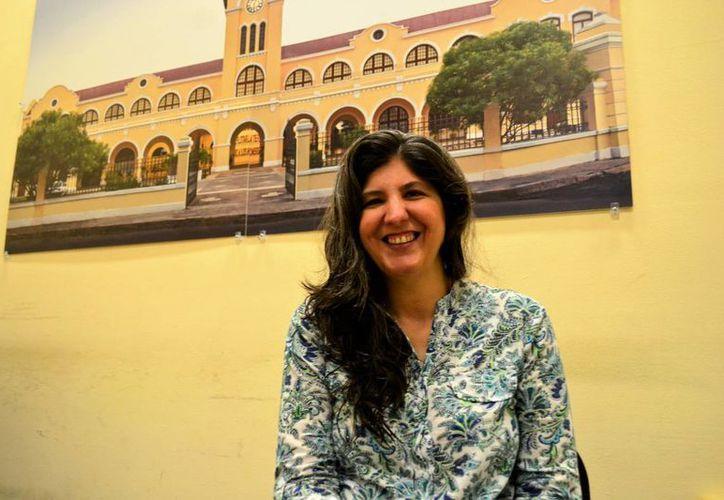 Vanesa Rivero actualmente estudia la Maestría en Producción y Enseñanza de las Artes en la ESAY. En mayo la artista visual presentará su obra plástica en la Casa del Lago en la Ciudad de México. (Daniel Sandoval/SIPSE)