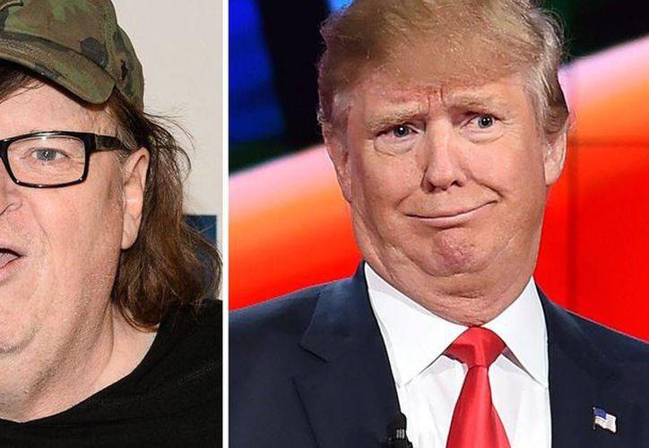 Para el cineasta Michael Moore,  Hollywood tiene algo de culpa por haber ayudado a Donald Trump a moldear su ascenso. (Foto tomada de hora22.com)