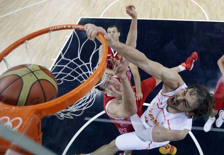 España busca la revancha ante EU, quien le arrebató la medalla de Oro en Londres 2012. (Foto: Agencias)