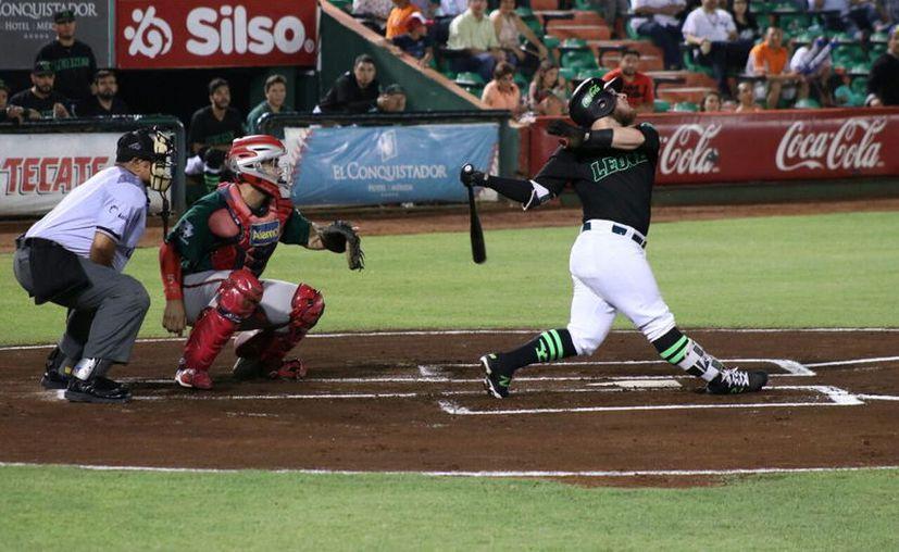 Preocupa mala racha de los melenudos con el bat, de cara al inicio de los pléiofs. (Foto: Daniel Sandoval/ Milenio Novedades)