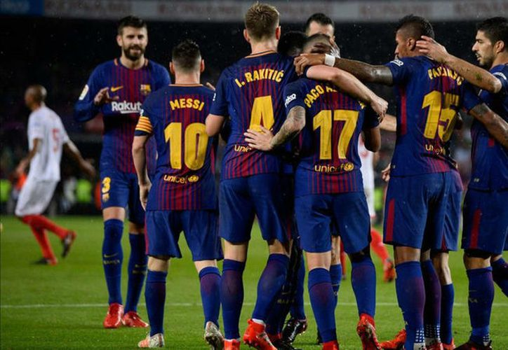 El Barça tendrá que intentar levantar el resultado el jueves de la próxima semana. (Contexto)