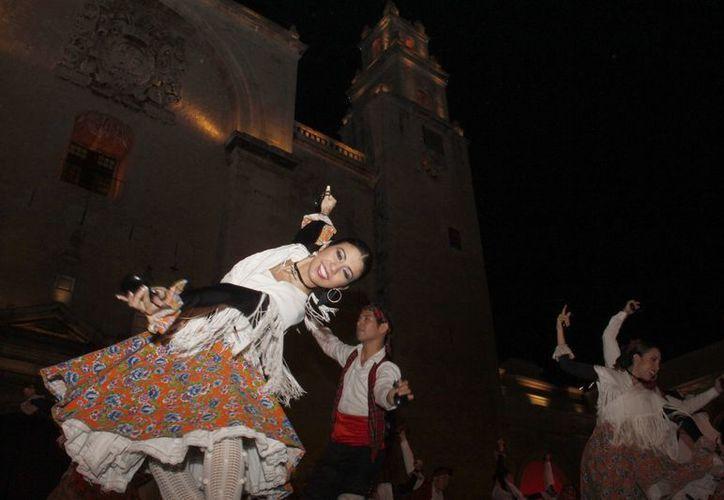 Continúan las actividades para celebrar el aniversario de Mérida. (Milenio Novedades)