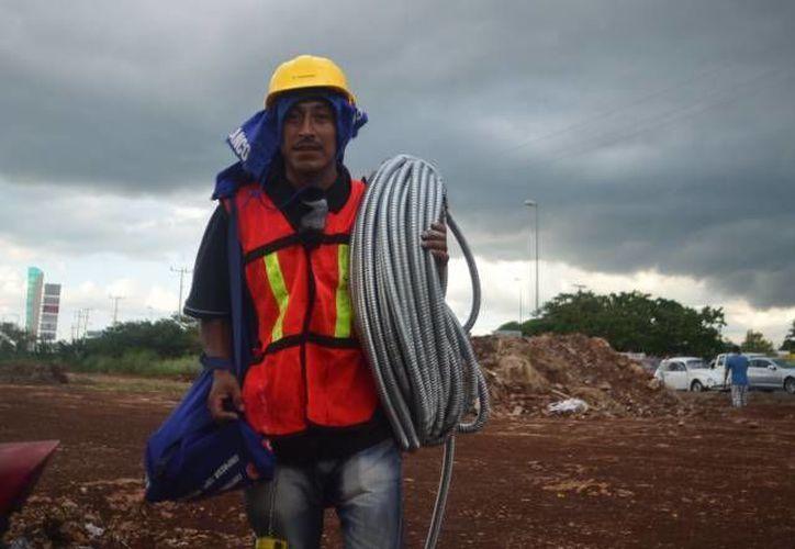 Los vientos de ayer en Mérida alcanzaron rachas de 50 kilómetros por hora. (SIPSE/Foto de contexto)