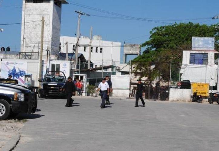 El caso se registró en la celda L del Cereso de Cancún. (Eric Galindo/SIPSE)