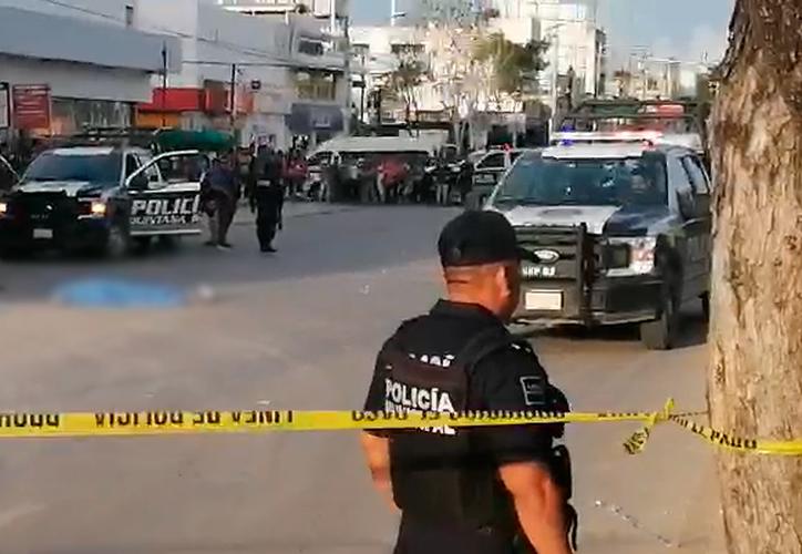 El ataque ocurrió frente a una tienda de conveniencia sobre la avenida López Portillo. (Redacción/SIPSE)