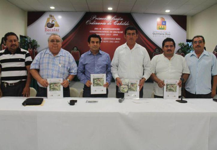 Designan puestos para nuevo gabinete de Bacalar. (Carlos Horta/SIPSE)