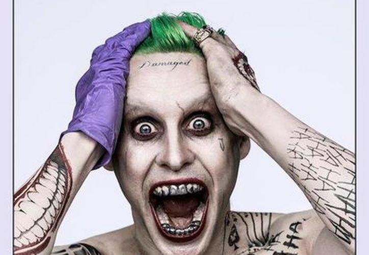 Así lucirá Jared Leto en la nueva película 'Suicide Squad', en el papel de El Joker. (Agencias)
