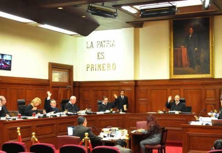 Con tres votos a favor y dos en contra, la Primera Sala avaló que el caso sea devuelto al sexto tribunal colegiado en materia penal en la Ciudad de México. (Archivo/Notimex)