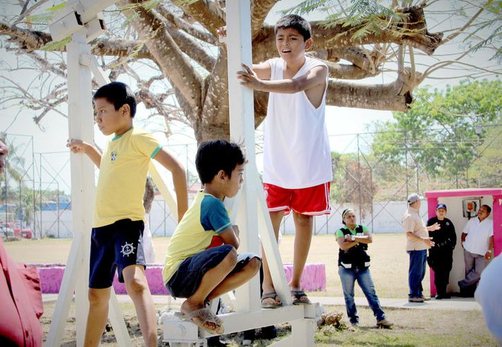 El objetivo primordial de las autoridades es señalar medidas urgentes de protección en beneficio de los infantes. (Foto: David de la Fuente / SIPSE)
