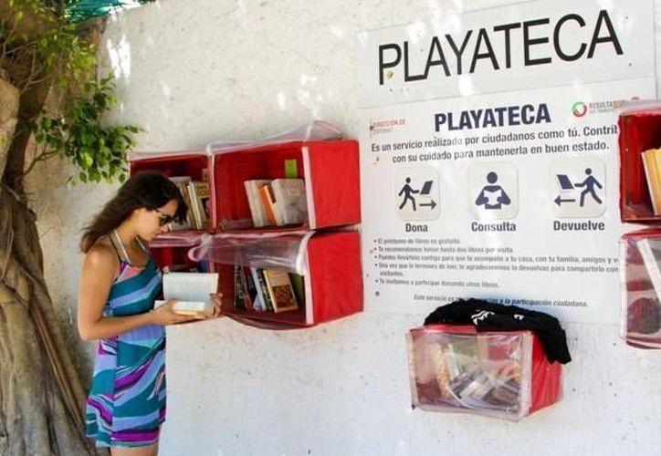 El servicio de 'Playatecas' se encuentra en las playas Las Perlas, Chac Mool, Marlín y Delfines de Cancún. (Redacción/SIPSE)
