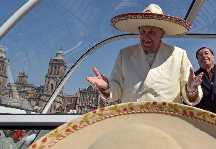 El Papa Francisco felicitó a México por recibir a migrantes. (Foto de archivo/Wikiedia)