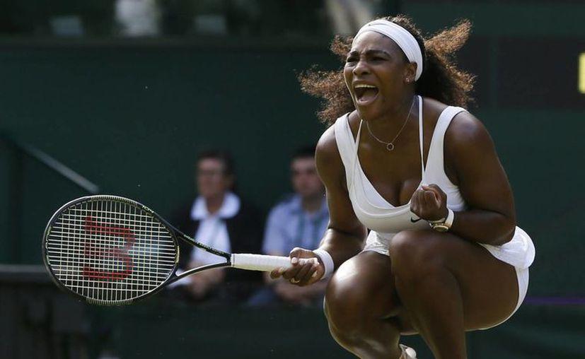 Serena Williams sigue siendo la tenista número 1 del mundo y por amplia diferencia. En la foto, en el Abierto de Wimbledon, que acaba de ganar. (wtop.com)