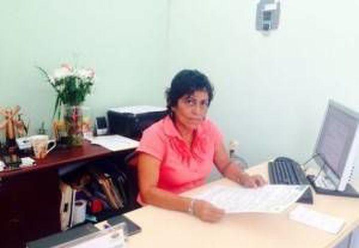 Cristina Medina, directora de Ecología en Isla Mujeres. (Redacción/SIPSE)