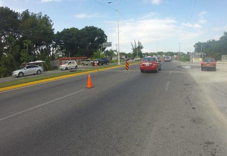 A nivel nacional, Quintana Roo ocupa el sitio cuatro en infraestructura carretera. (Claudia Martín/SIPSE)