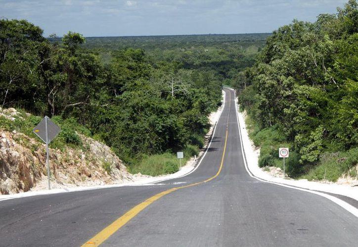 Se ampliaron y modernizaron caminos rurales de la comunidad. (Cortesía/SIPSE)