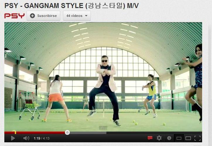 El tema lanzó al estrellato mundial al cantante PSY (Youtube.com)