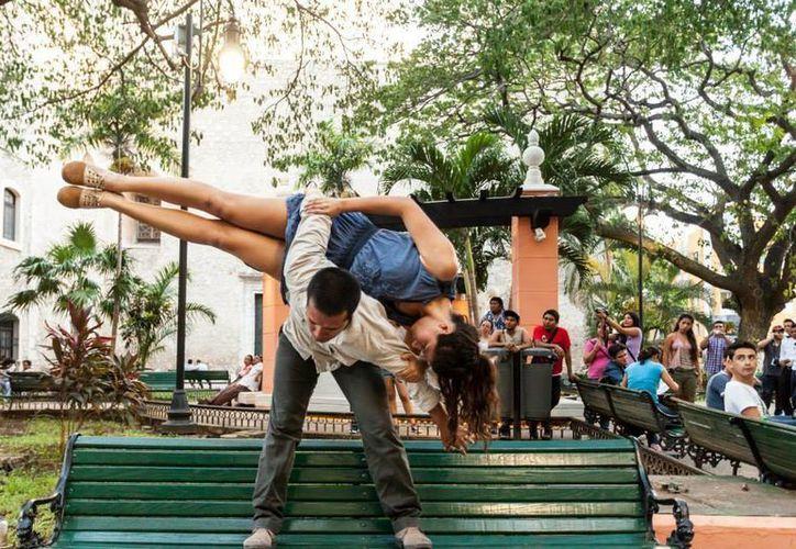 """El grupo colectivo Kuns ofrecerá en el Olimpo una función especial de la """"Danza Improvisación"""". (Milenio Novedades)"""