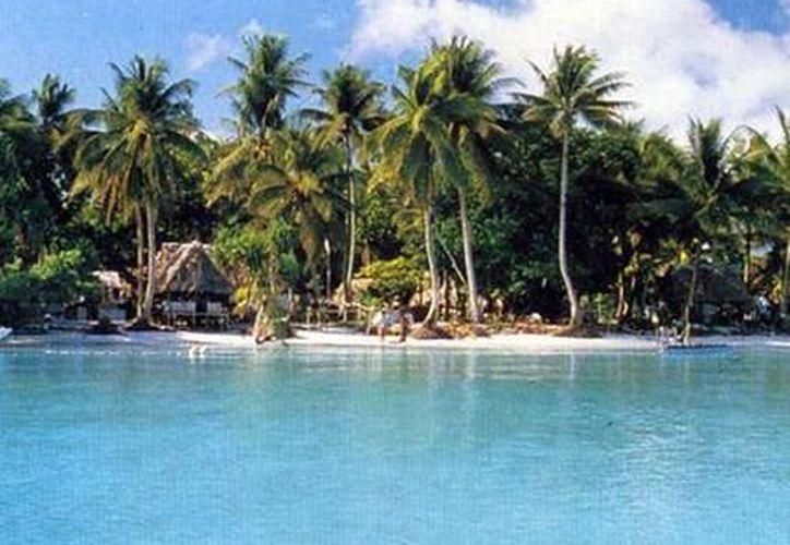 Tuvalu se encuentra en el sur del Océano Pacífico, aproximadamente a medio camino de Hawái y Australia. (Contexto/Internet).
