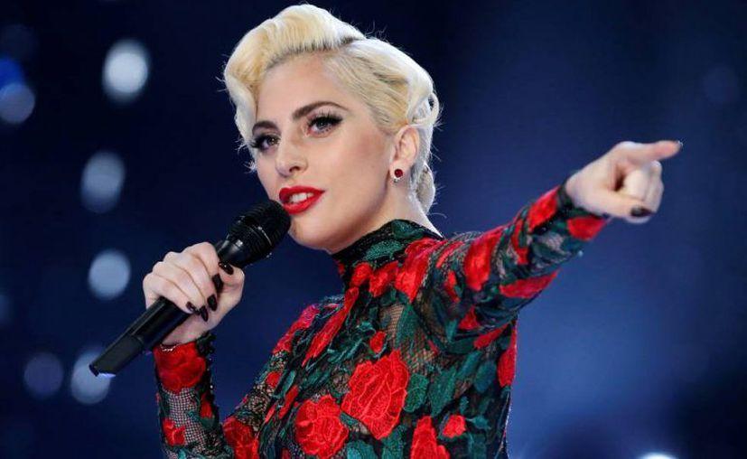 Lady Gaga desmintió estar esperando un bebé. (Internet)