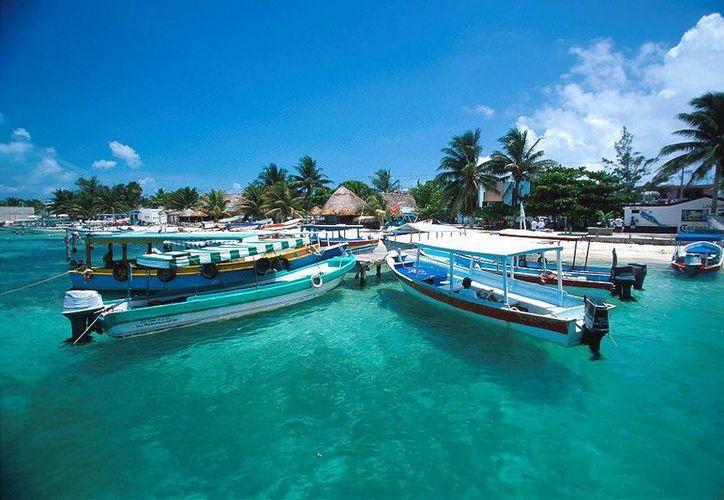 Isla Mujeres tuvo en 2012 un año muy bueno con relación a las ocupaciones hoteleras. (Foto de Contexto/Internet)