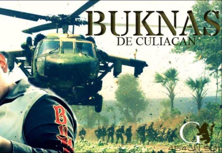 La banda Buknas de Culiacán dedicó un corrido a los líderes templarios, entre ellos 'El Chayo'. (Captura de Pantalla)