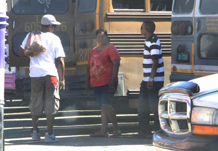 Se gestiona cierta flexibilidad de las autoridades de migratorias de México para dejar ingresar al país a los beliceños. (Harold Alcocer/SIPSE)