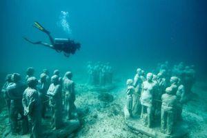 Museo Subacuático de Arte, un atractivo de Cancún