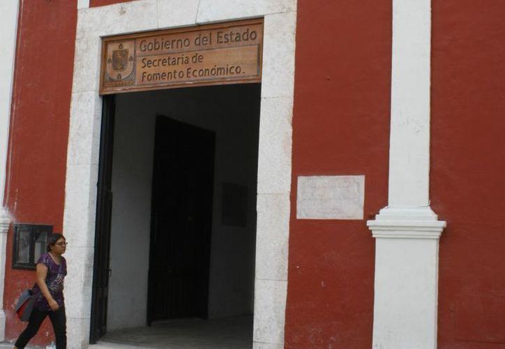 Instalaciones de la Secretaría de Fomento Económico. (Milenio Novedades)