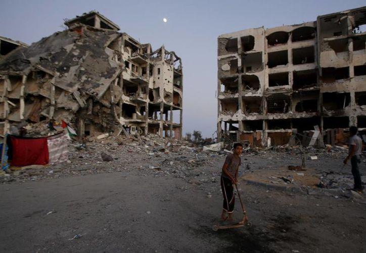 Datos preliminares indican que los misiles lanzados por Hamas no causaron daños de consideración. (AP)
