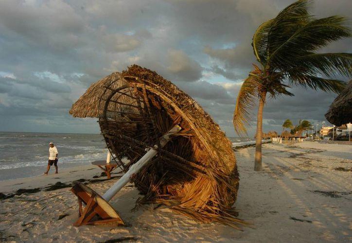 La tormenta tropical 'Norbert' continuará con fuertes vientos a lo largo de la península de Baja California. La imagen es de referencia. (Archivo/SIPSE)